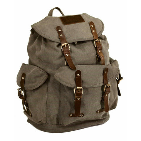 Outback Trading Unisex Overlander Satchel Tan Backpack Bag 7500-TAN