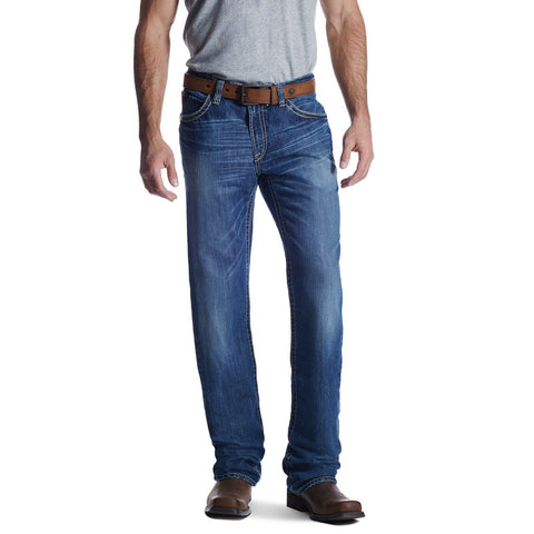 Ariat® Men's FR M4 Ridgeline Glacier Low Rise Boot Cut Jeans 10018365