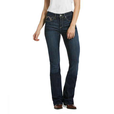 Ariat Ladies R.E.A.L High Rise Flare Avalynn Rascal Jeans 10033489