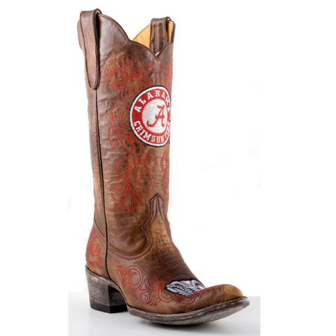 Gameday Ladies University of Alabama Boots AL-L012-1