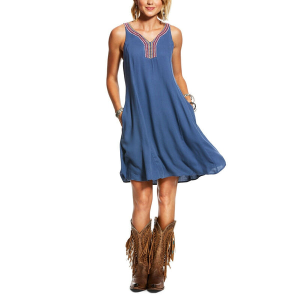 Ariat® Ladies Indio Blue Indigo Fade Dress 10026578