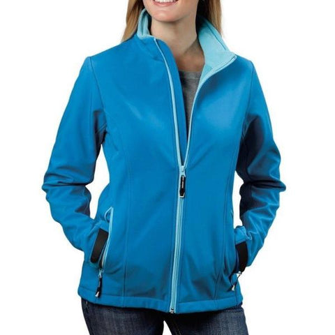Roper Ladies Blue Technical Soft Shell Jacket 03-098-0780-0652