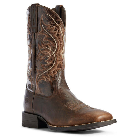 Ariat Men's Canteen Coffee and Old Oak Holder Boots 10031440