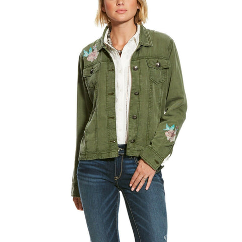 Ariat Ladies Olive Green Incognito Jacket 10025647
