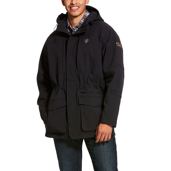 Ariat® Men's Storm Fighter Waterproof Black Jacket 10023902