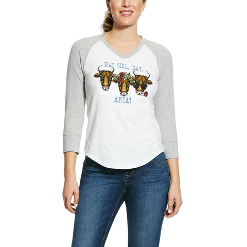 Ariat Ladies R.E.A.L™ Hay Girl T-Shirt 10031842