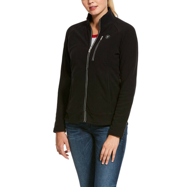 Ariat® Ladies Basis 2.0 Full Zip Black Jacket 10028272
