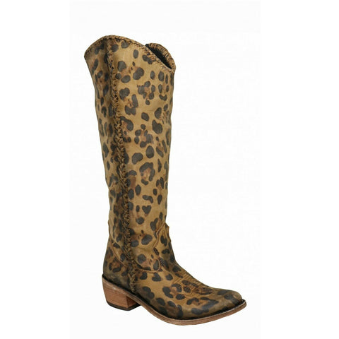 Liberty Black Ladies Stonewashed Chita Miel Tall Boot LB-711173D