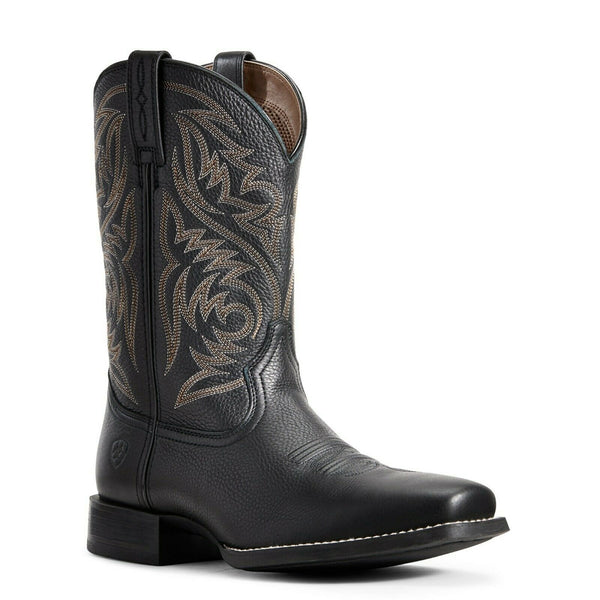 Ariat® Men's Black Sport Herdsman Boots 10029743