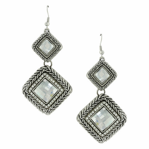 Montana Attitude Jewelry Woven Glamour Earrings AER4254