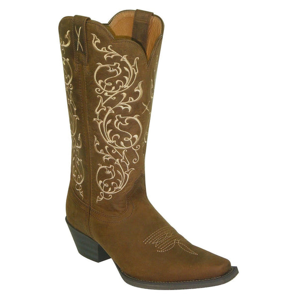 Twisted X Ladies Brown Bomber Western Boot WWT0022 - Wild West Boot Store