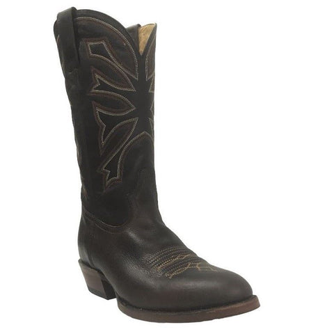 Stetson Men's Chester Brown Embroidered Boots 12-020-7301-0385 - Wild West Boot Store