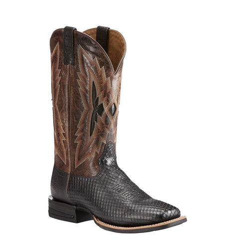 Ariat® Men's Relentless Top Notch Black Serpent Print Boots 10023209
