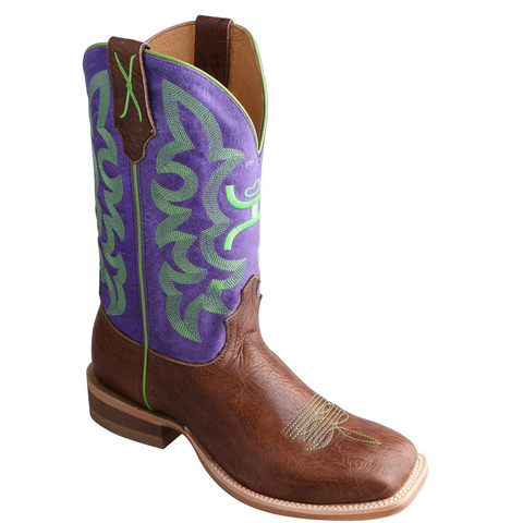Twisted X Men's Hooey Purple Cowboy Boots MHY0013