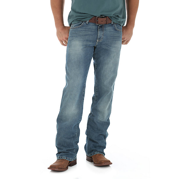 9047b48d Wrangler Mens Retro Relaxed Fit Bootcut Jeans WRT20RT – Wild West ...