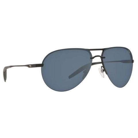 Costa Helo Matte Black Frame with Gray Lens Sunglasses HLO 11 OGP