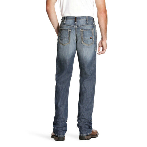 Ariat® Men's FR M4 Low Rise DuraStretch Light Boot Cut Jeans 10023467