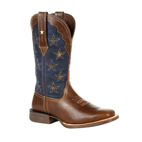 Durango® Ladies Rebel Vintage Flag Western Boots DRD0393