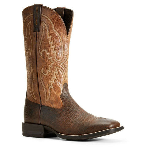 Ariat Men's Copper Kettle & Dark Tan Round Pen Boots 10029691