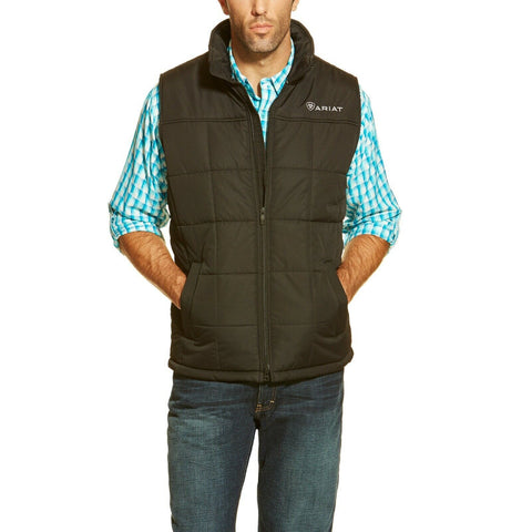 Ariat® Men's Crius Black Insulated Concealed Carry Vest 10011523