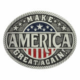 Montana Silversmiths Make America Great Again Attitude Buckle A668