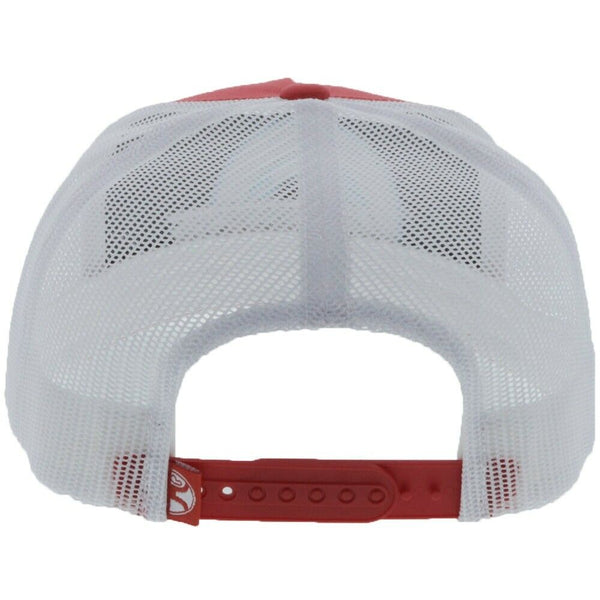 Hooey SUDS 5 Panel Red & White Trucker Hat 1911T-RDWH