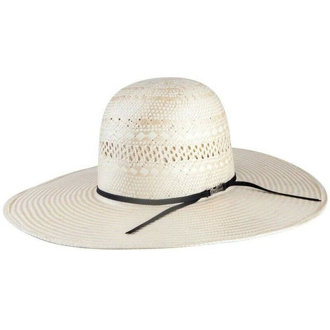 American Hat Co. Cream & Ivory Weave Unshaped Western Hat 6100