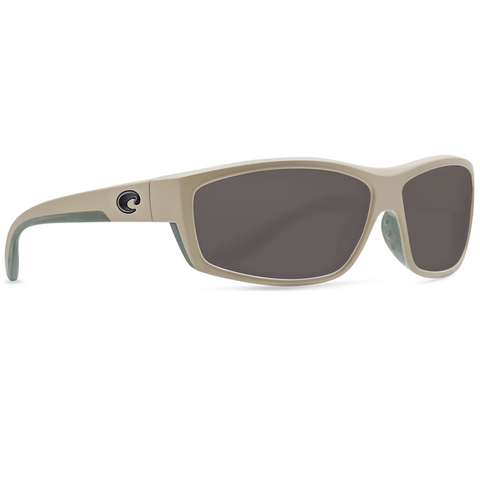 Costa Saltbreak Sand Frame with Gray Plastic Lens Sunglasses BK-248-OGP
