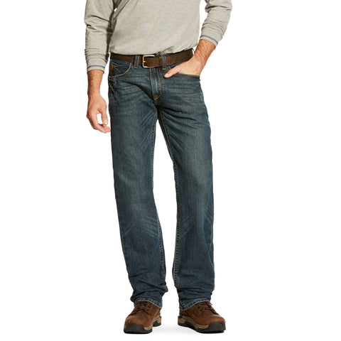 Ariat® Men's Rebar DuraStretch Fashion M5 Slim Ironside Jeans 10016222 - Wild West Boot Store