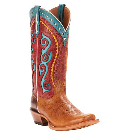 Ariat® Ladies Cowtown Cutter Multi-Color Western Boots 10025055 - Wild West Boot Store