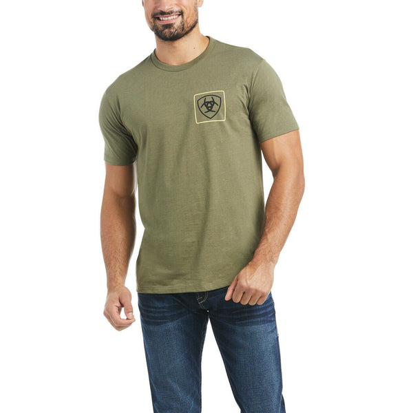Ariat® Men's Military Heather Format T-Shirt 10034360