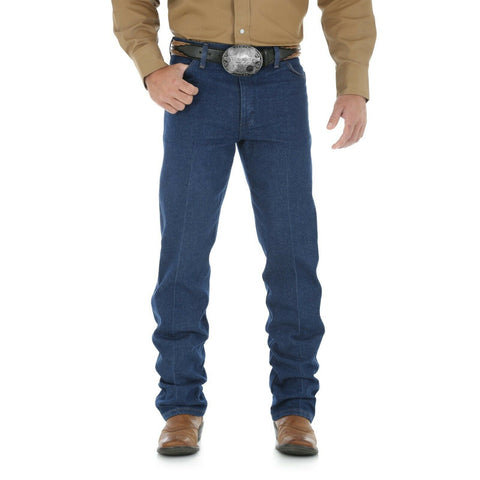 Wrangler Men's Cowboy Cut® Original Fit Prewashed Indigo Jeans 13MWZPW