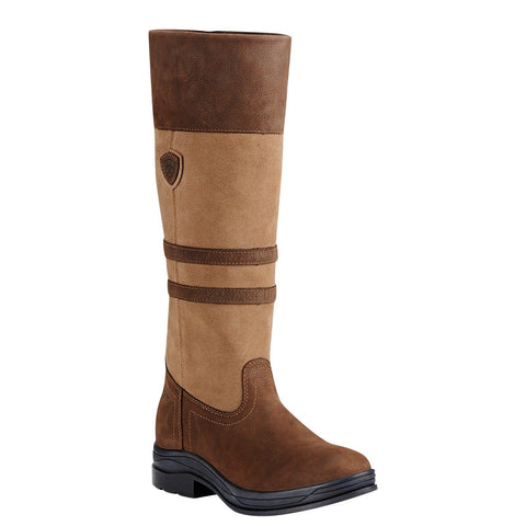 Ariat® Ladies Ambleside H2O Flaxen Waterproof Tall Boots 10018497 - Wild West Boot Store