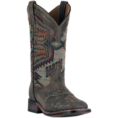 Laredo Ladies Scout Aztec Square Toe Boot 5647 - Wild West Boot Store - 1