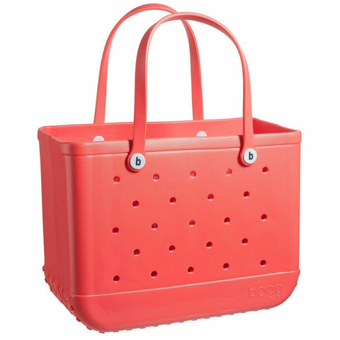 Bogg Bag Coral Me Mine Original Large Tote 26OB-CMM