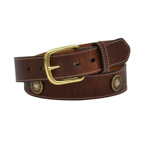 3D Belt Company Men's Shotgun Conchos Belt DB1067