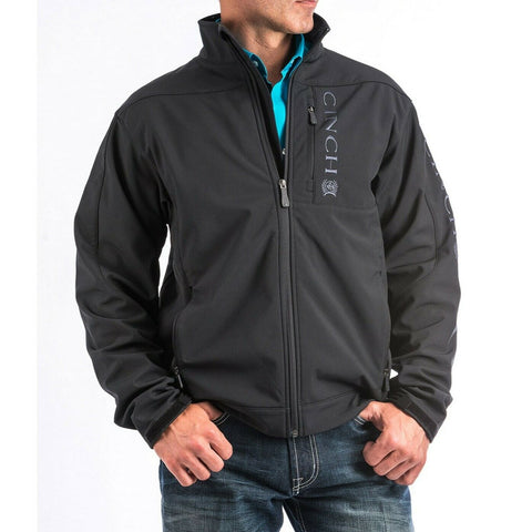 Cinch Men's Black Solid Bonded Jacket MWJ1009000