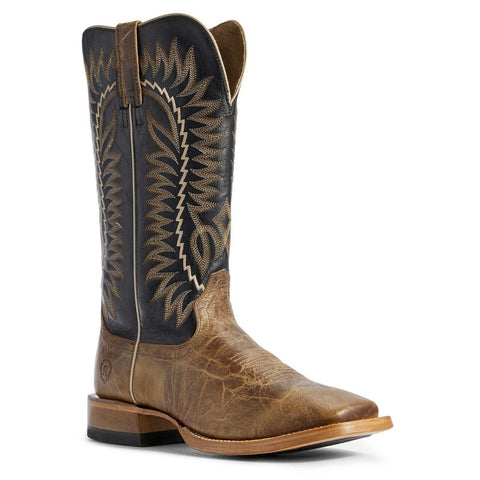 Ariat® Men's Relentless Turnback Tan/ Black Elite Boots 10031631
