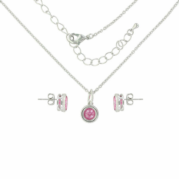 Montana Silversmith's Tough Enough To Wear Pink Jewelry Set JS3965PK