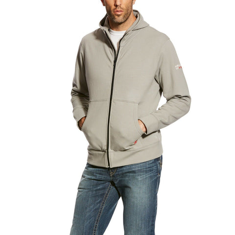 Ariat® Men's FR Durastretch Full Zip Jacket Hoodie 10023977