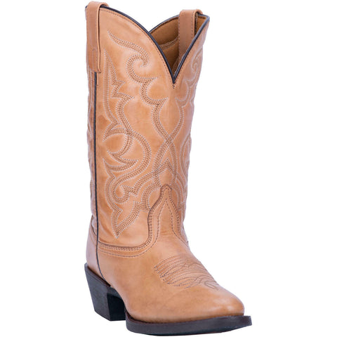Laredo Ladies Maddie Tan Round-Toe Boots 51111