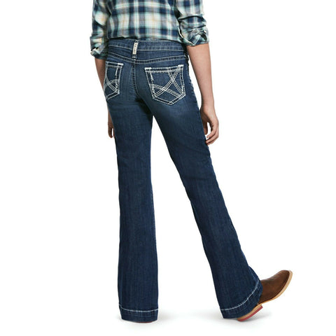 Ariat® Girl's R.E.A.L Chill Heirloom Slim Fit Trouser Jeans 10032109