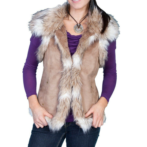 Scully Ladies Hazelnut Calgary Vest 8023-HAZ