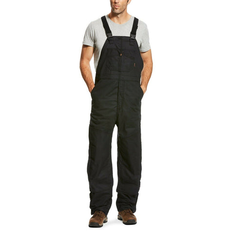 Ariat® Men's Black Flame-Resistant Insulated Overall 2.0 Bib 10023457