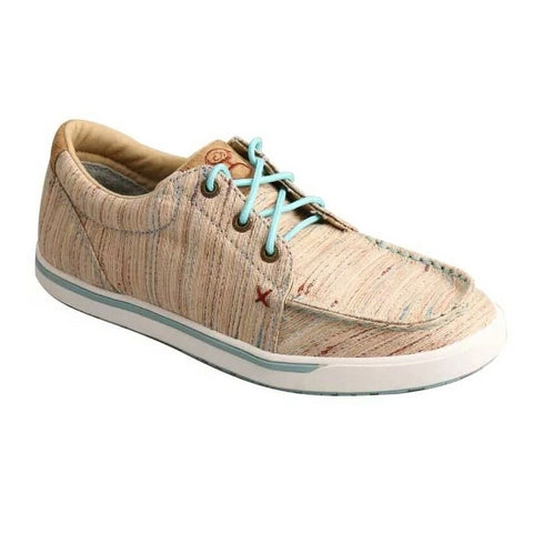 Twisted X Ladies Hooey Tan/Multi Lopers WHYC011