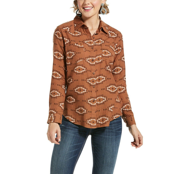 Ariat® Ladies R.E.A.L Billie Jean Autumn Blossom Shirt 10033211