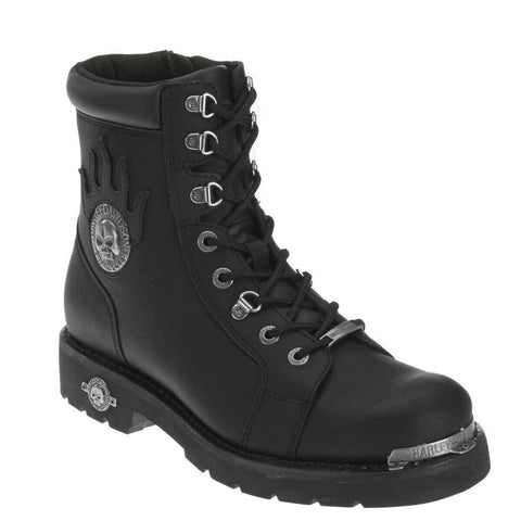 Harley Davidson Men's Diversion Skull Motorcycle Boots D94169