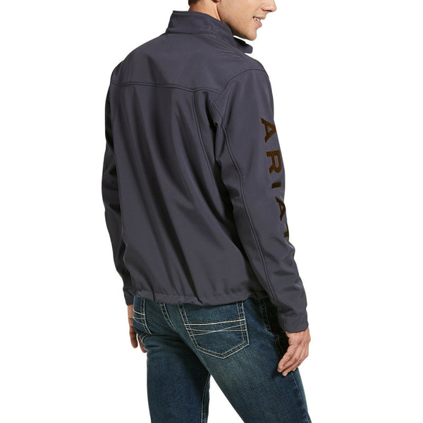 Ariat® Men's New Team Periscope Grey Softshell Jacket 10032688