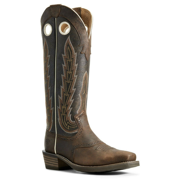 Ariat Men's Brown Heritage Buckaroo Boots 10029695