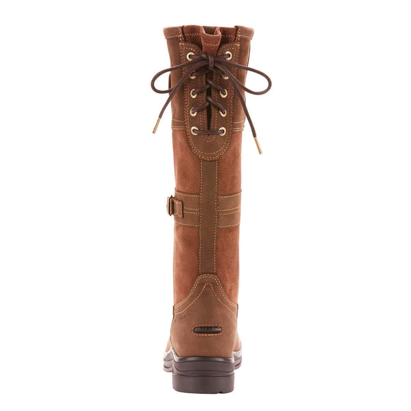 Ariat® Ladies Langdale H2O Java Brown Waterproof Tall Boots 10024982 - Wild West Boot Store